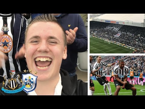 *MAGIC MIGGY* NEWCASTLE VS HUDDERSFIELD VLOG! 2-0