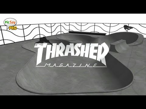 TUTORIAL | EDIT LOGO THRASHER | PICSAY PRO - YouTube