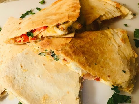 HOW TO MAKE CHICKEN QUESADILLA - STORHANZ COOKING CHANNEL