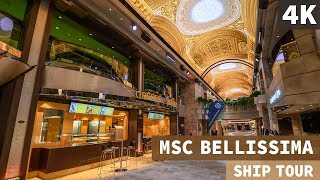 Exploring MSC Bellissima during her naming ceremony/launch in South...
