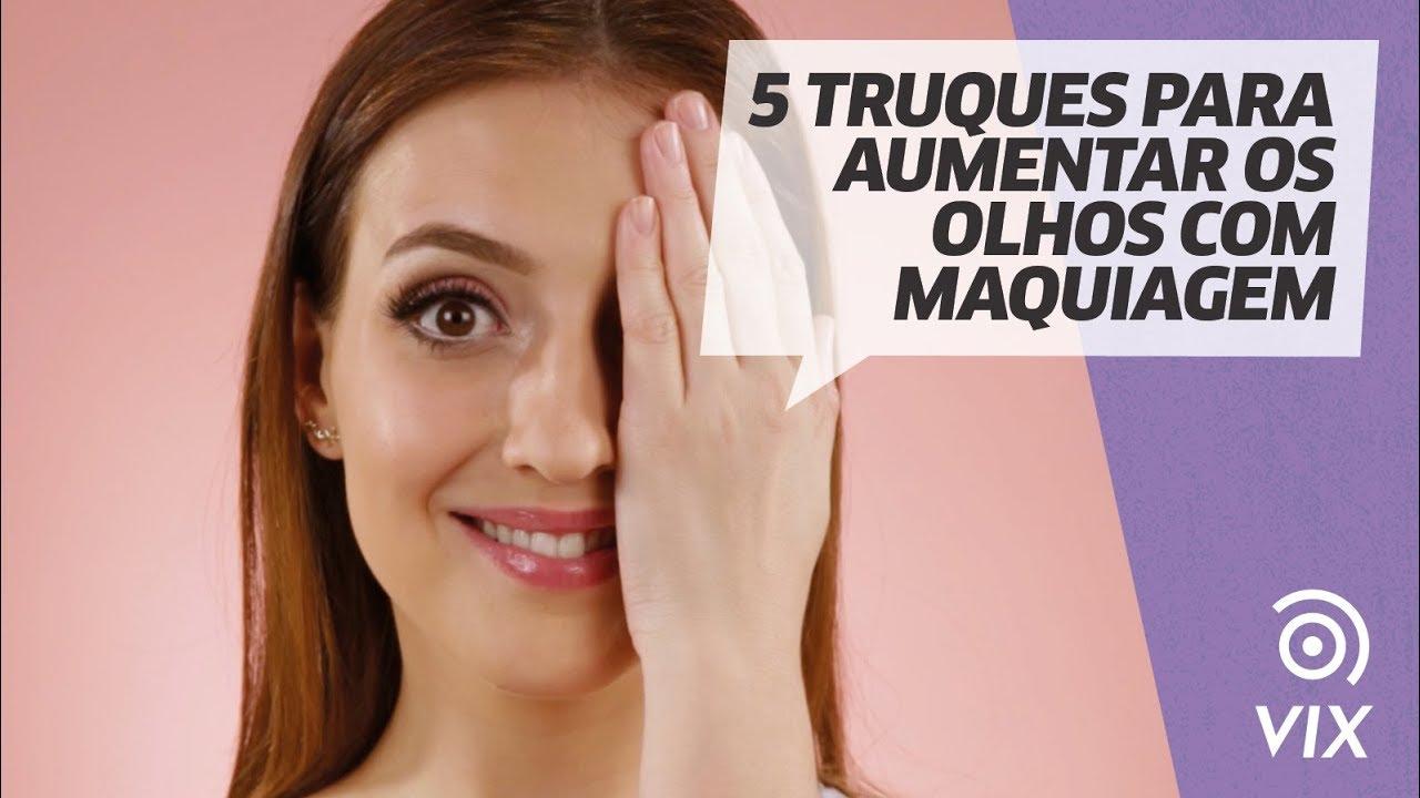 e6d0a3584 5 truques para aumentar os olhos com maquiagem l dicas de make l VIX ...