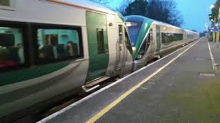 Irish Rail | ICR Snappy Departure | Enfield (1705 Connolly Sligo)