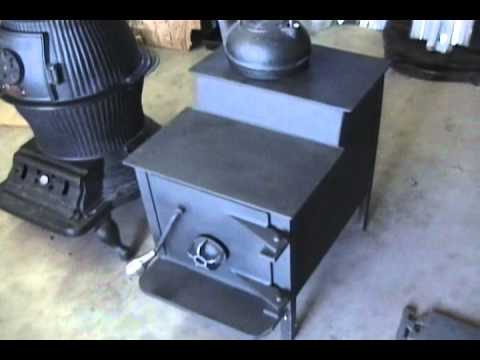 my wood burning stove and pot belly stove - My Wood Burning Stove And Pot Belly Stove - YouTube