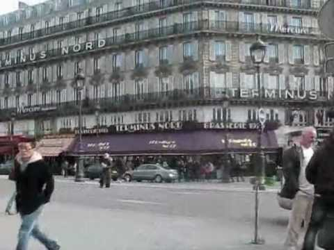 Paris Travel -- Montmartre, Moulin Rouge, Place Pigalle, Gare du Nord, Gare de l'Est