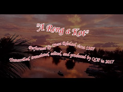 """A Reng a Kot"" by Tresa Rdulaol with Karaoke lyrics and translation"
