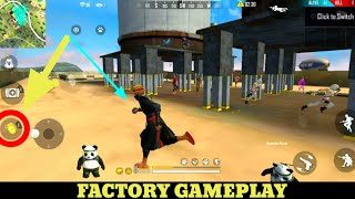 Free Fire playing like a hacker - FF fist fight in factory /factory roof king [Garena free fire]