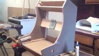 Custom Build Arcade Machine - Monitor Mount