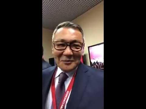 Ғофур Раҳимов AIBA президенти  👏 Эксклюзив видео