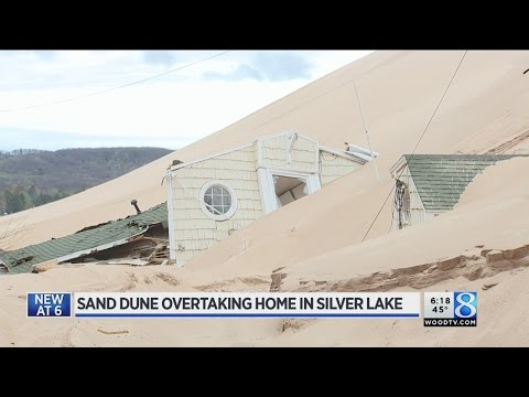 Silver Lake Dunes swallow up house