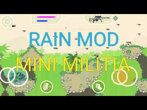 mini militia rain mod