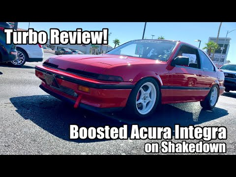 Super Clean!  Turbocharged '87 Acura Integra On Shakedown
