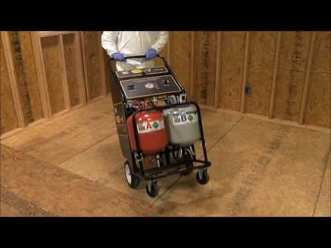 Spray Foam Equipment - CPDS  Set-Up Procedures