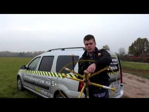 видео: Секреты затяжки 100 метров кабеля в гофру. suneler.ru