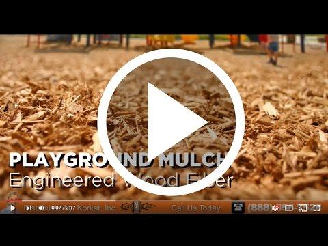 Engineered Wood Fiber | Playground Safe Mulch | EWF For Playground Equipment | Playground Mulch