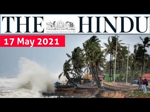 17 May 2021 | The Hindu Newspaper Analysis | Current Affairs 2021 #UPSC #IAS Editorial Analysis