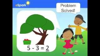 eSpark Learning: Adding and Subtracting Within 5 (K.OA.5, Quest 5)
