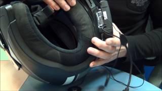 Установка Scala Rider G9 на шлем BMW System 6 от GPStrade.ru(Установка Scala Rider G9 на модуляр BMW System 6 а также на шлемы Schuberth C3  C3 pro обычно связана с тем, что штатный комплект..., 2014-04-11T11:29:29.000Z)