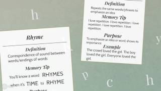 Literary Devices - Parallelism, Rhyme, Repetition, & Hyperbole