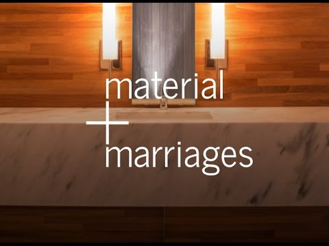 Material Marriages (An Architect