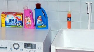 How To Make Laundry Detergent And Dishwashing Liquid For Doll (monster High, Eah, Barbie, Etc)