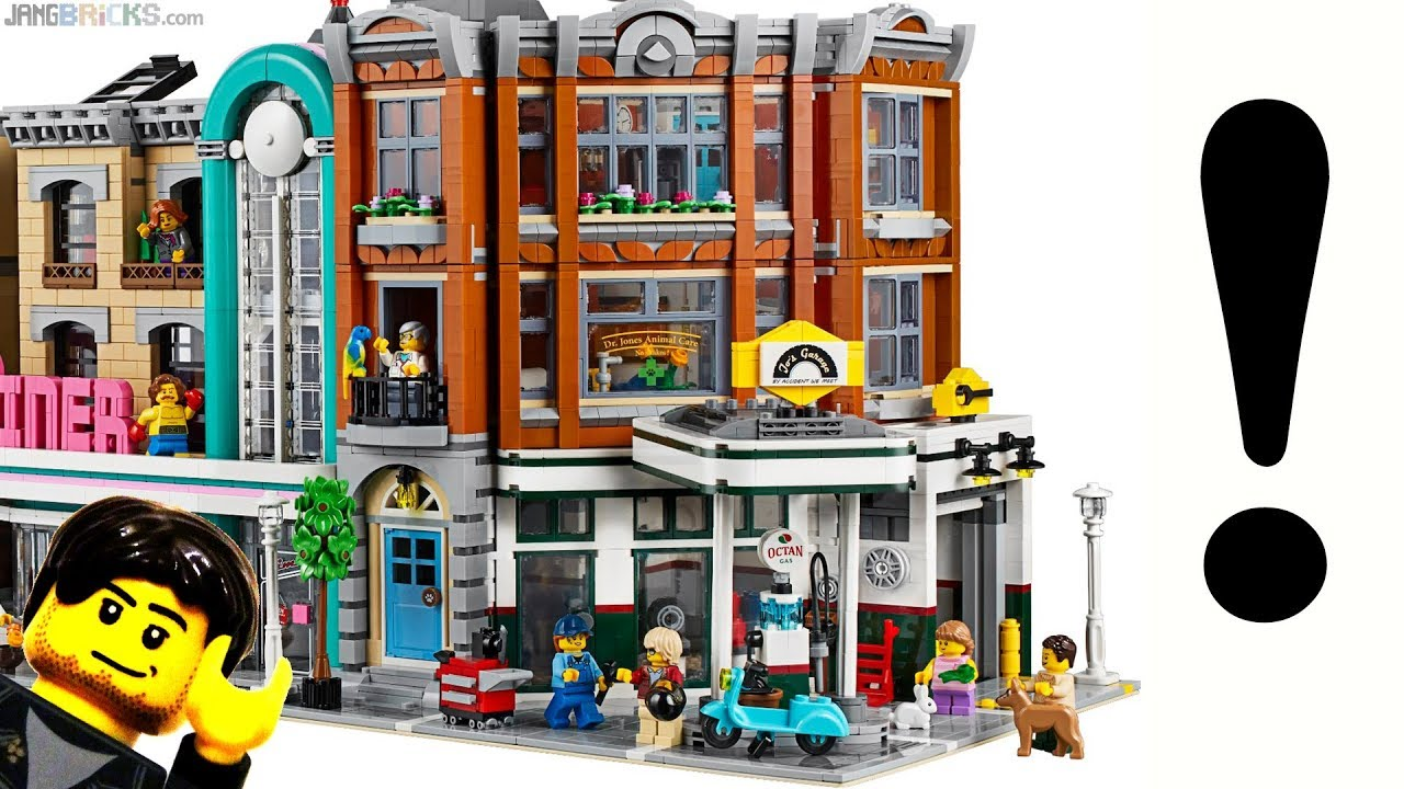 Walkthrough & thoughts: LEGO Corner Garage modular reveal!