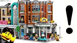 Baixar Walkthrough & thoughts: LEGO Corner Garage modular reveal!