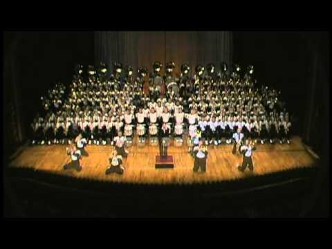 Ohio University Marching 110 Full Ohio Theatre Performance 2005