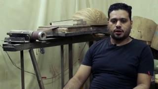 Oud Industry Oud Maker Mustafa Bakr Dagher صناعة العود صانع العود مصطفى بكر داغر