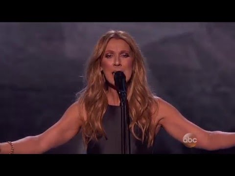 Celine Dion - Hymne à L'Amour (Live at American Music Awards AMAs 2015) HD