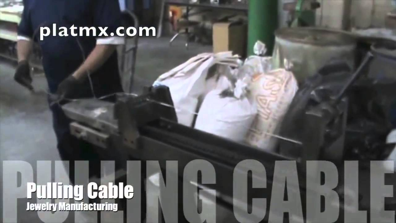 cable wire make manufacturing precious metal gold silver platinum ...