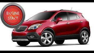 Buick Encore: Open and start the latest model with a dead key fob battery.