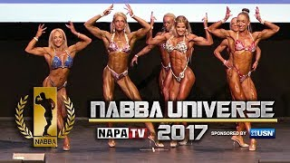 NABBA Miss Universe 2017 - Trained Figure - Call-outs & Comparisons