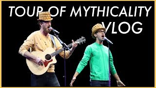 I WENT TO THE TOUR OF MYTHICALITY - Vlog