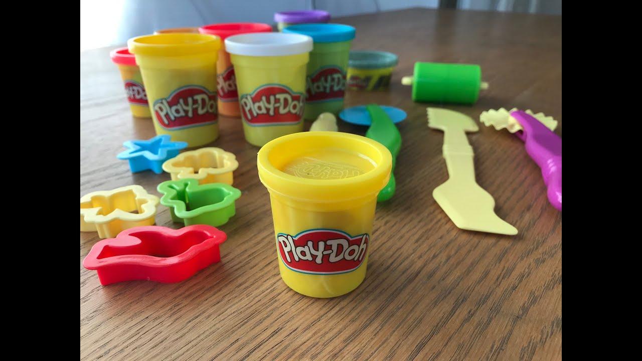 PLAY DOH COLORS - Pâte à modeler enfants - PLASTICINE PLAY DOH COLORS - Pâte à modeler enfants ...