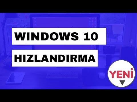 Windows 10 Hızlandırma 2019 [PROGRAMSIZ]