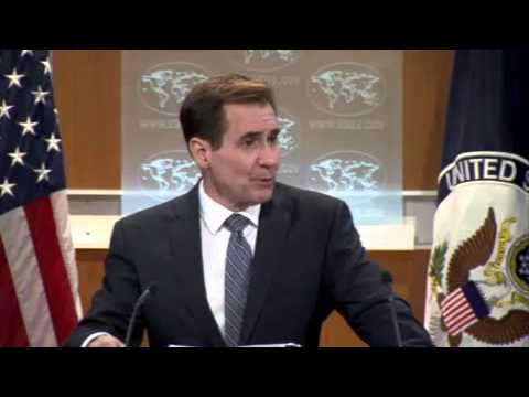 Reporter Angrily Walks Out When State Dept. Won't Answer His Question