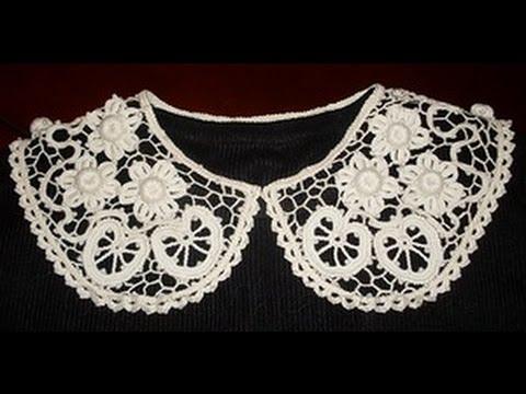 вязание воротника крючком 2019 Knitting Crochet Collar