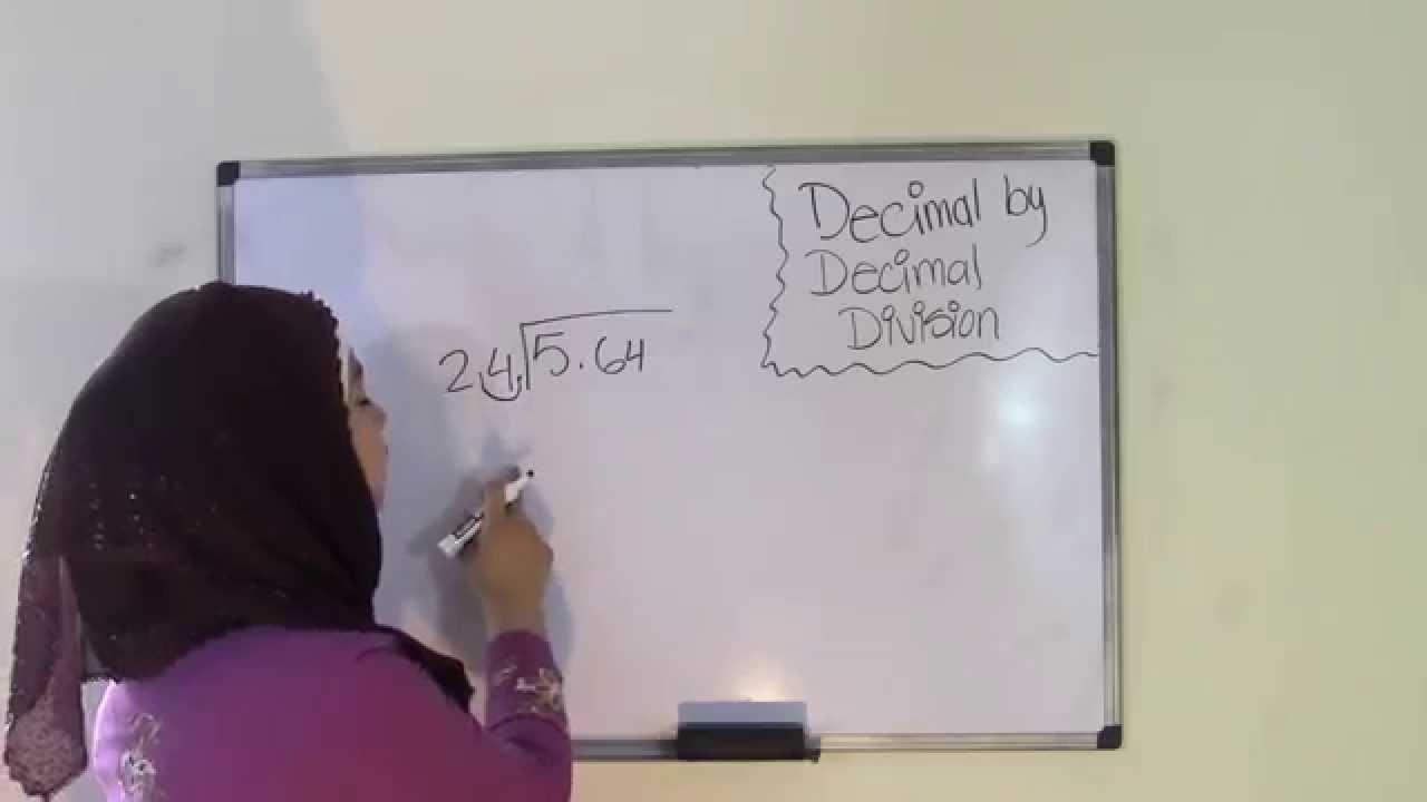 6th Grade Math Divide Decimals by Decimals - YouTube