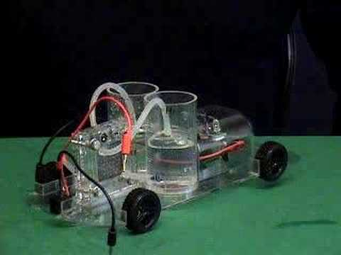 hydrogen fuel cell car experimental demonstration