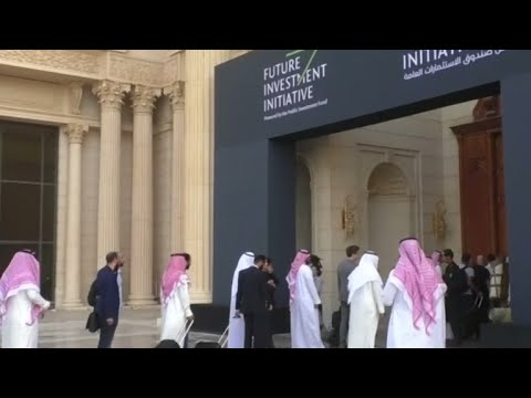 Shaky start to Saudi Arabia investment conference