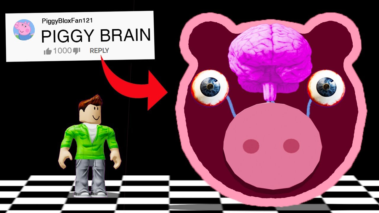 LIVE INSIDE PIGGY in ROBLOX!? (COMMENTS to CUSTOM Maps in PIGGY)