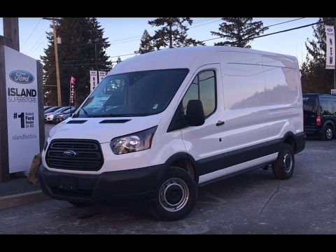 2017 Ford Transit Cargo Van T-250  + Backup Camera Review | Island Ford