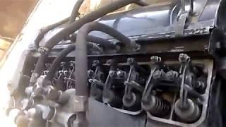 Пробный пуск двигателя газ 542.