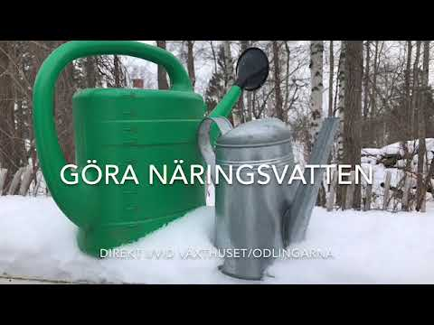 Bästa näringsvattnet kompostte