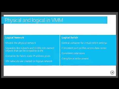 How to Design and Configure Networking in VMM and HyperV (Part 1 of 2)