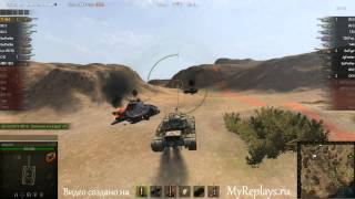 WOT: Эль-Халлуф - T110E4 - 9 фрагов -