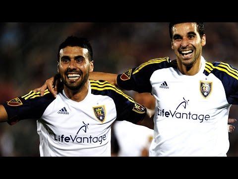 GOAL: Javier Morales scores a stunner from distance | Real Salt Lake vs. Houston Dynamo