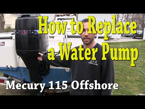 How to Replace a Water Pump- Mercury 115 Outboard Motor