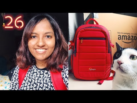 New Camera Bag + All My Camera / Filming Gear // #MagaliVlogs Vlune Day 26