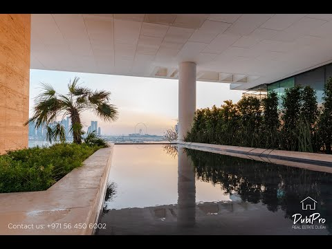 Inside a $10,000,000 One Palm Jumeirah penthouse with private pool